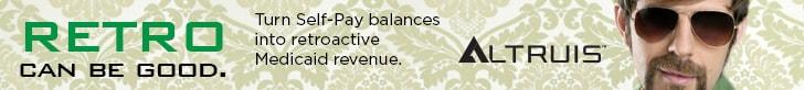Altruis RetroPay - turn self-pay balances into retroactive Medicaid reimbursement.
